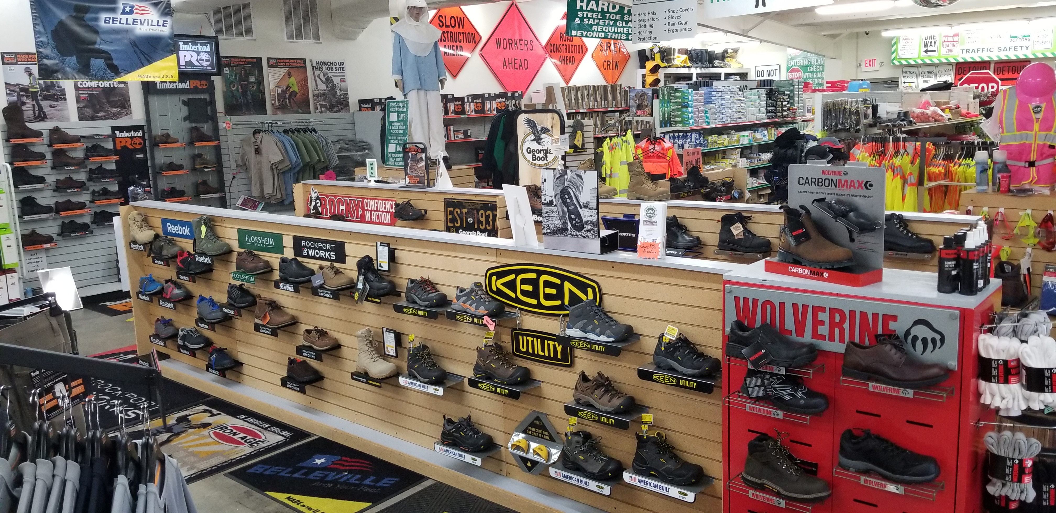 We Carry an Extensive Stock of Safety Toe Shoes & Boots. View What Brands We Carry Here.