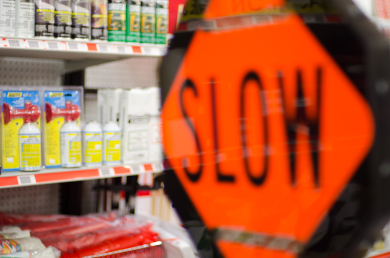 Slow Down . . . Browse Our Traffic Control Signs Here.